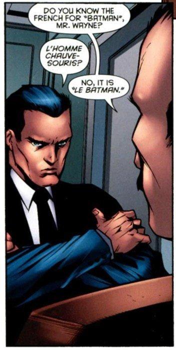Le Batman. . FRENCH FDR' . ME. HHEHE? DC Your Daily batman le