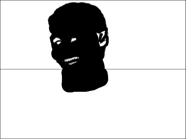LE OBAMA FACE. le black man.. Slit your throat OP. le stalin