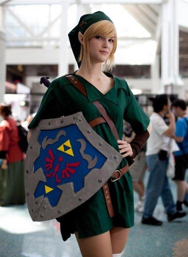 Legend of Zelda cosplay. .