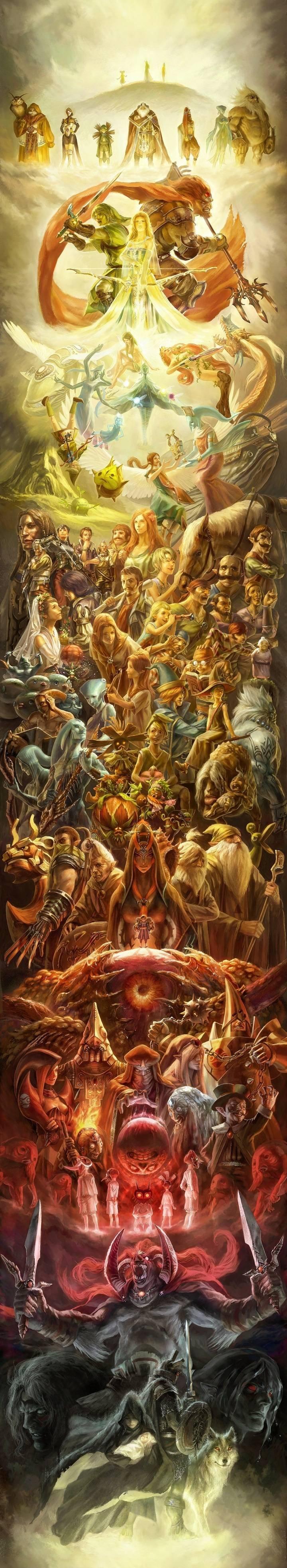 Legends of Hyrule. Like alternative art? Come on over here!!==>alternateartlives.blogspot.com/.. Link and Zelda dump.