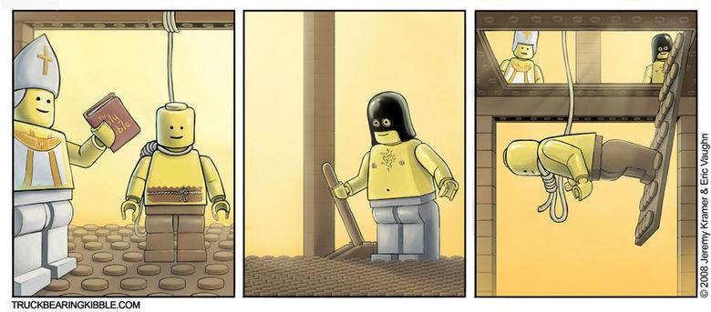 Lego Hanging. .