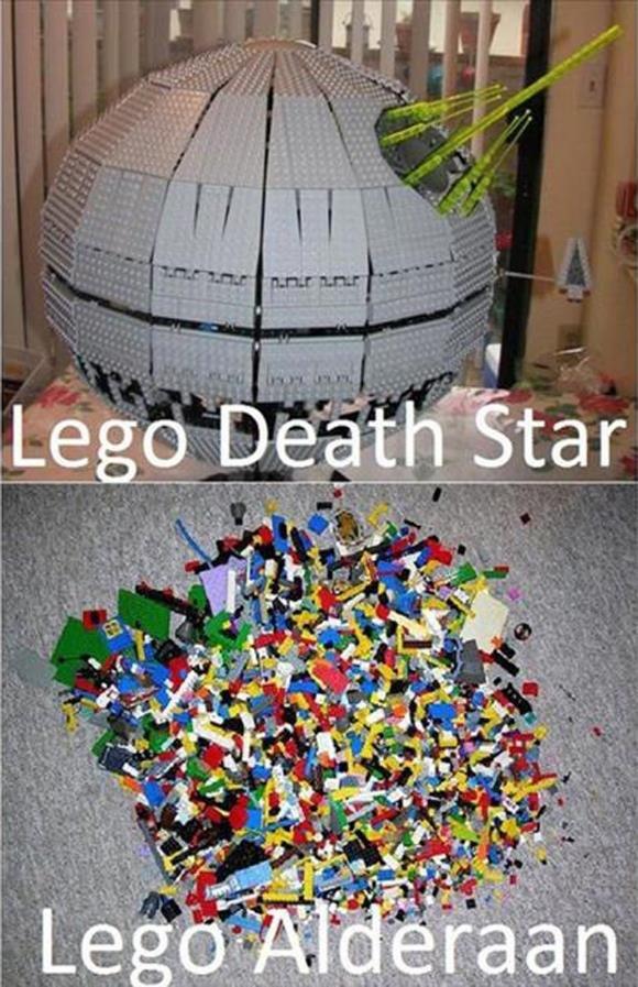 Lego Star Wars. .. too soon dude. too soon