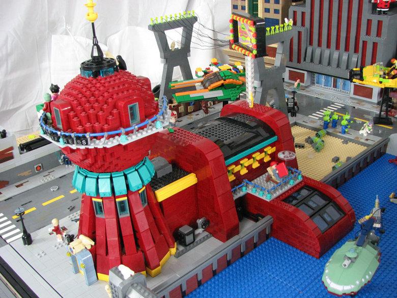 Legos. .. Run, Buzz Lightyear, run!!