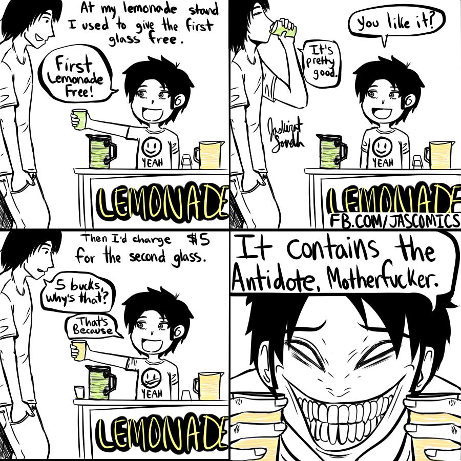 Lemonade. how to sell lemonade.. HFW