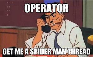 Let The World Burn.... . Spiderman thread