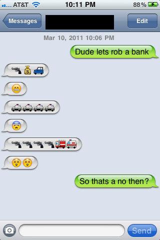 Let's Rob a Bank!. Okay.... Wait! That's not okay!. Mar IO, PM