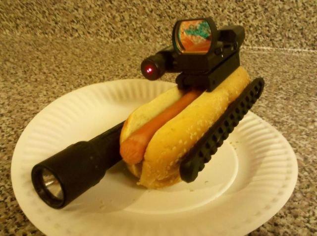 Lethal hot-dog. .. launch that weiner. asdasdasdasd