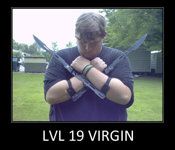level 19. . LI/ L 19 VIRGIN. impossible virgins dont learn duel weilding until level 20