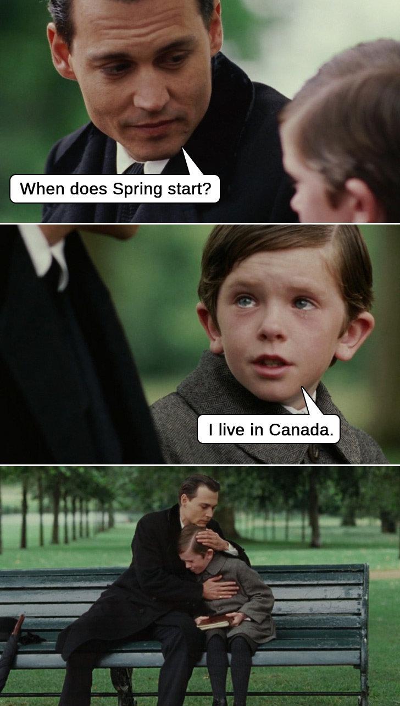 Life in Canada. So very true. I [html, in Canada.. Same here man.