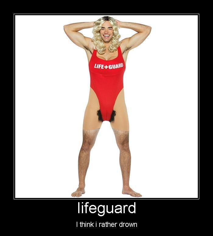 Lifeguard Cartoons and Comics - funny pictures from CartoonStock