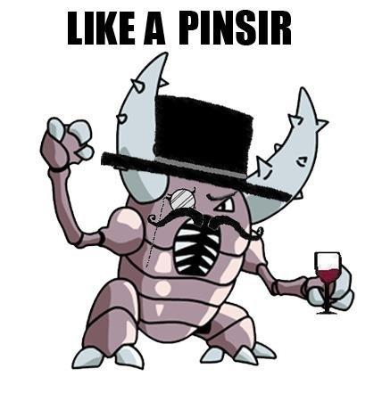 Like a sir. pinsir <3. A FINN!