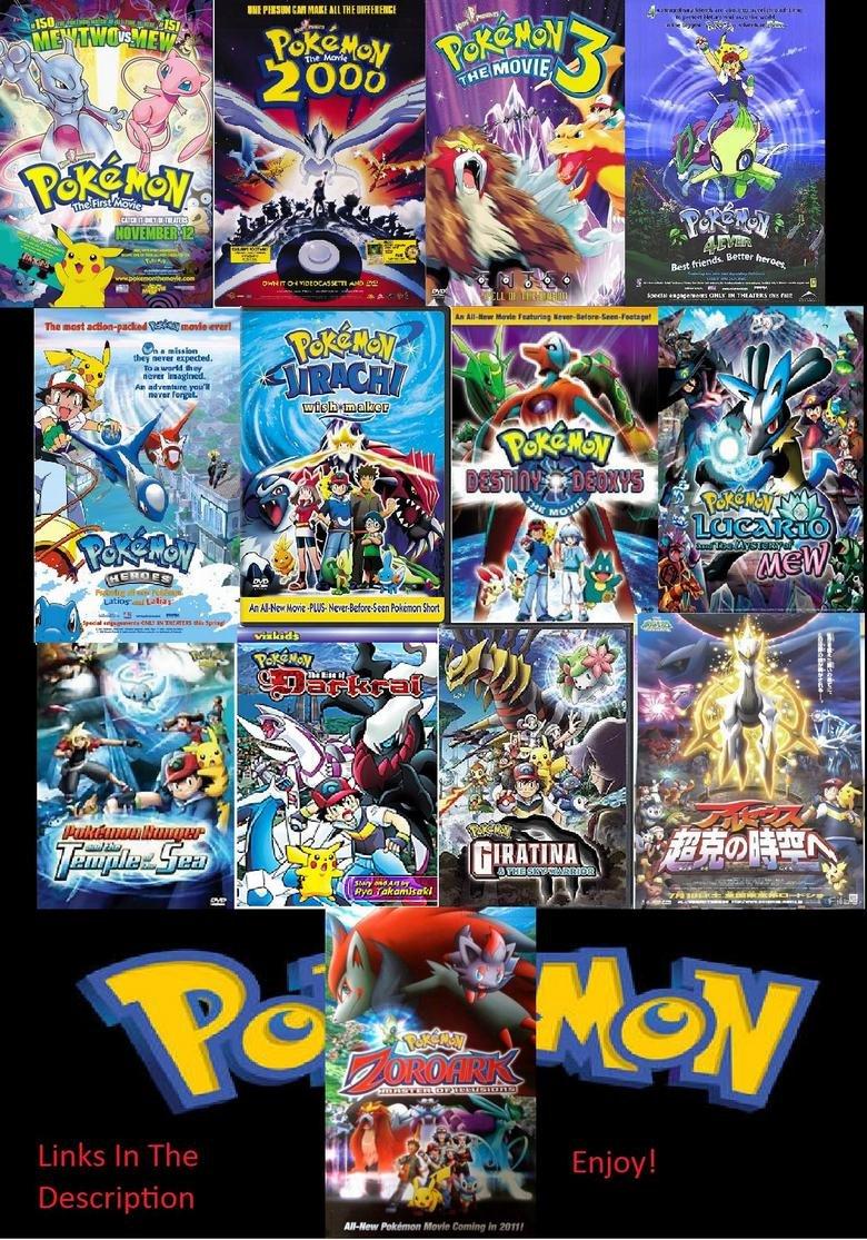 Pokemon Filme Liste