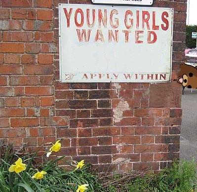 little girls wanted. good employment.