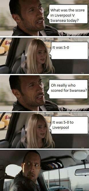 Liverpool Vs Swansea.. .. lel