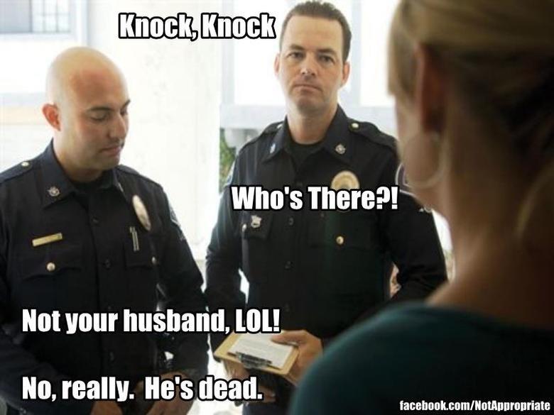 LOL NOTTTTTT. . not Hour husband, my. he was killed by an alchohol