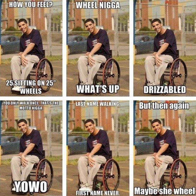 LOL Wheelchair Jimmy. found it online. I LOL'd accordingly. ligit? iit