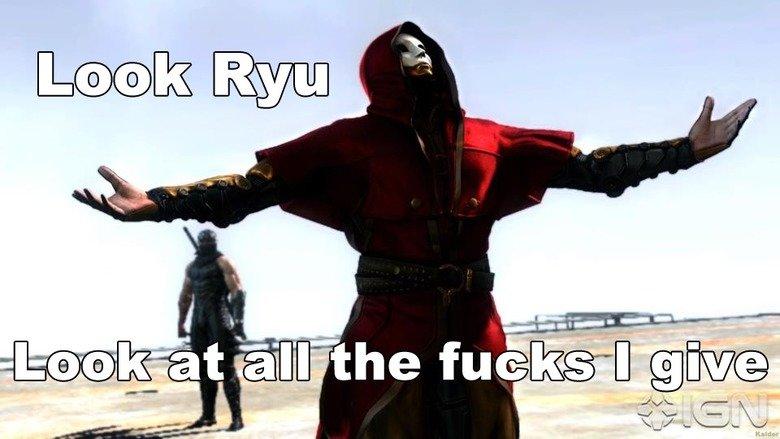 Look Ryu!. .