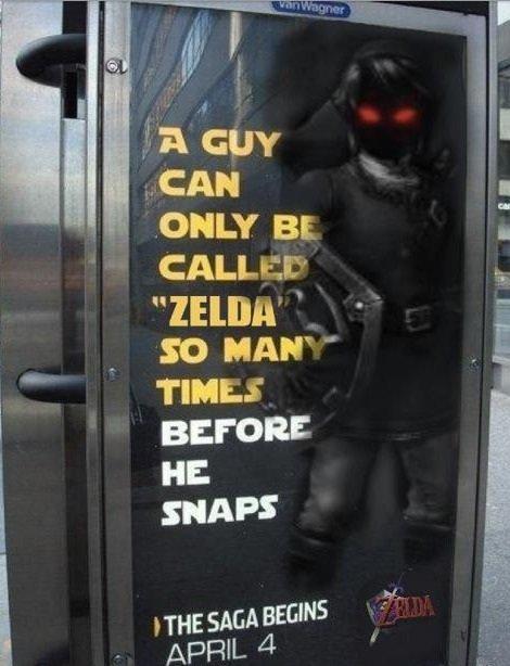 Look its Zelda. .. Original if anyone was wondering...
