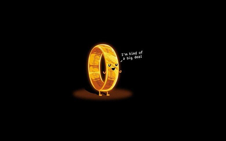 lotr. not mine. LOTR wallpaper ring