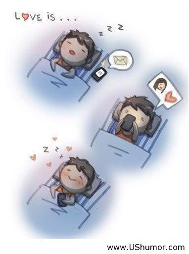 Love is. Love is .
