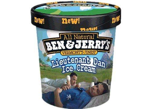 Lt. Dan?. I got you some ice cream, Lt. Dan. lloll ' I Baler Ehv