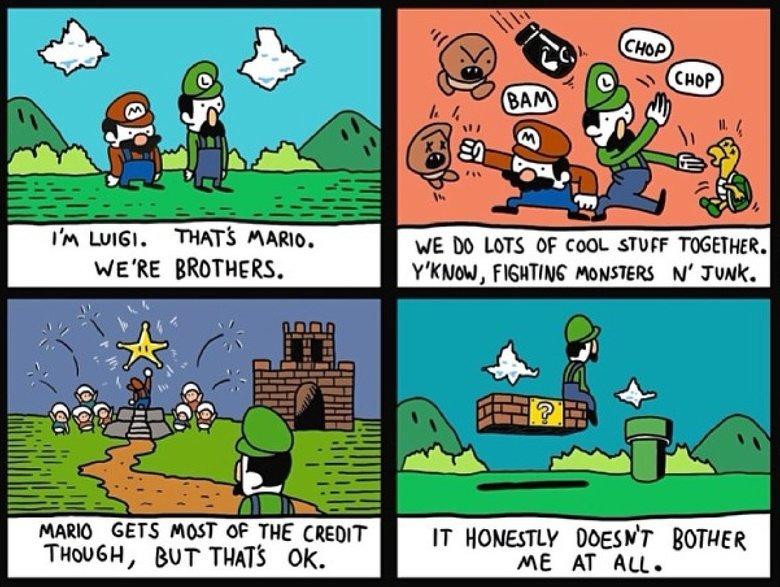 Luigi. . iitt 4, 151,. And then Luigi beats the crap out of everyone.