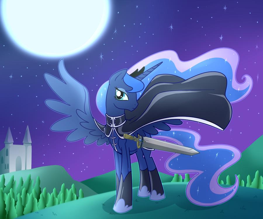 Luna background.. My favorite Princess... Got any on fluttershy ?