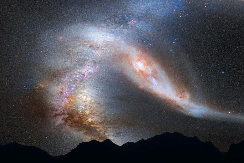 M31vsMW. . Space