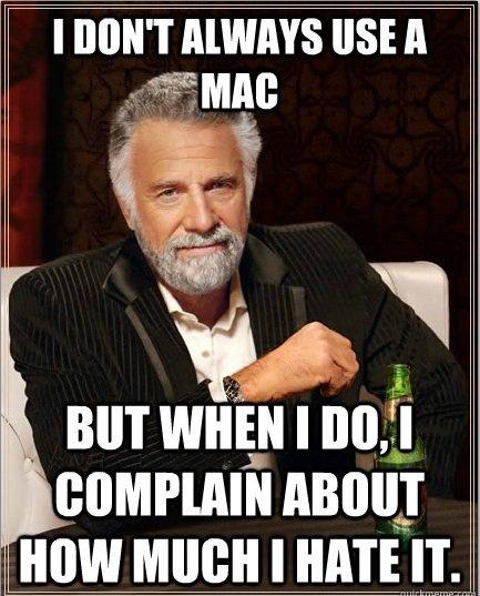 MACS SUCK. . I DON' T USE A iit Anon]