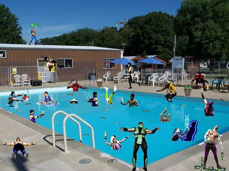 MK Pool Party. .. soon