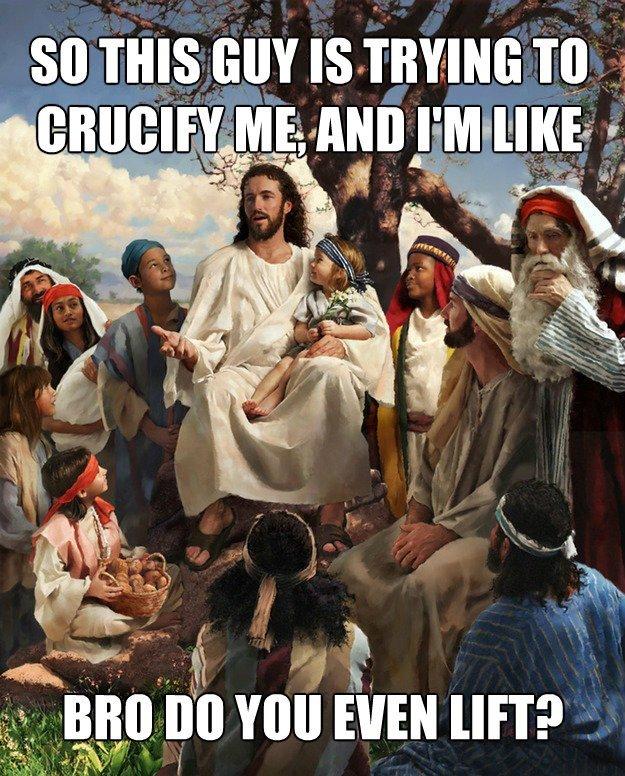 Macho Jesus. . i It MSI jtf