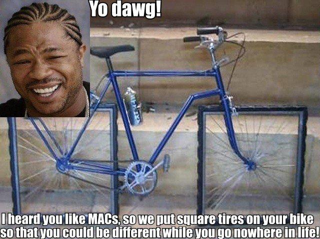 macs. . 2- t. iip, Shiitt. but that bike obviously wouldn't work. asdfasdf