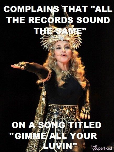 Madonna's Logic.. Madonna's Logic..