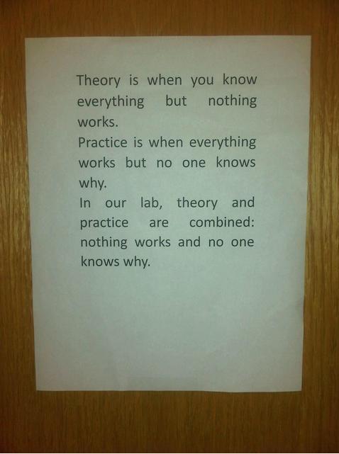 makes sense. science!.