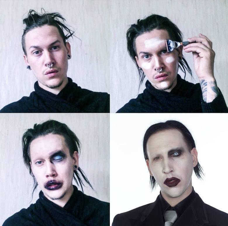 Makeup Transformations. . Makeup Transformations. A personal favourite.