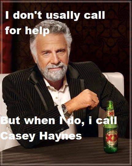 Man of interest.. hope u all enjoy ^^. I don' t us: -ally call man casey