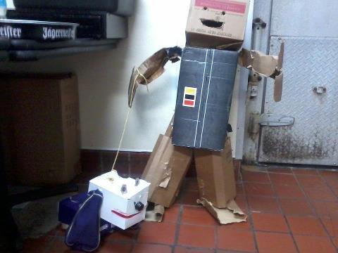 Manager told me to break down boxes. Legit. crown royal Dog jager Box man