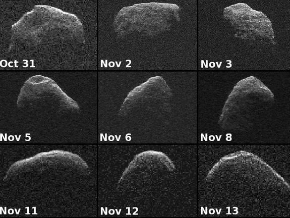 many faces of an asteriod. . that 31 Nov 2 New 3 Nov 5 Nov 6 Nov Nov 11 Nov 12 Nov 13