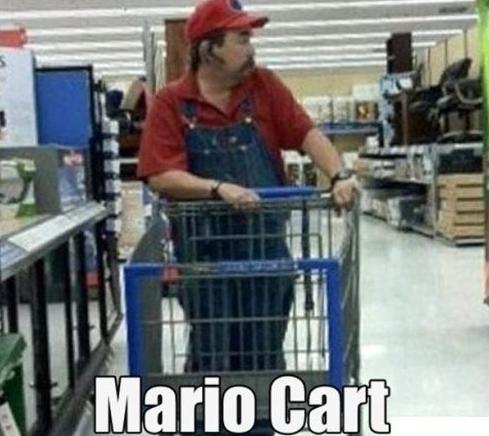 mario cart. .