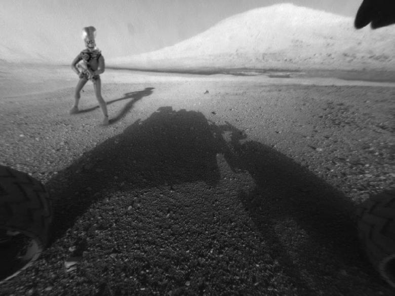 Mars Curiosity. .