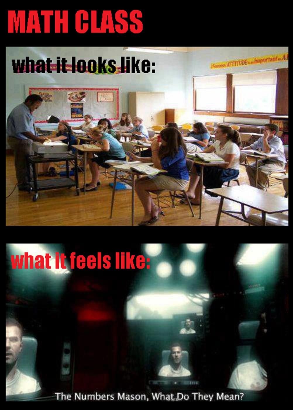 math class. .