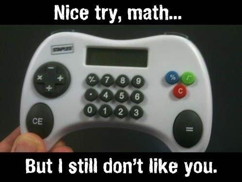 math.... . But ll still dam like in.