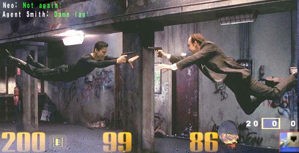 Matrix Lag. Damn lag..... Smith: Iain Ila? It I. Lagging in Max Payne 3... Matrix Lag game videogame Geek nerd network Movie movies