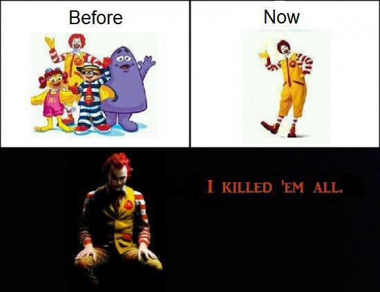 McDonalds. .