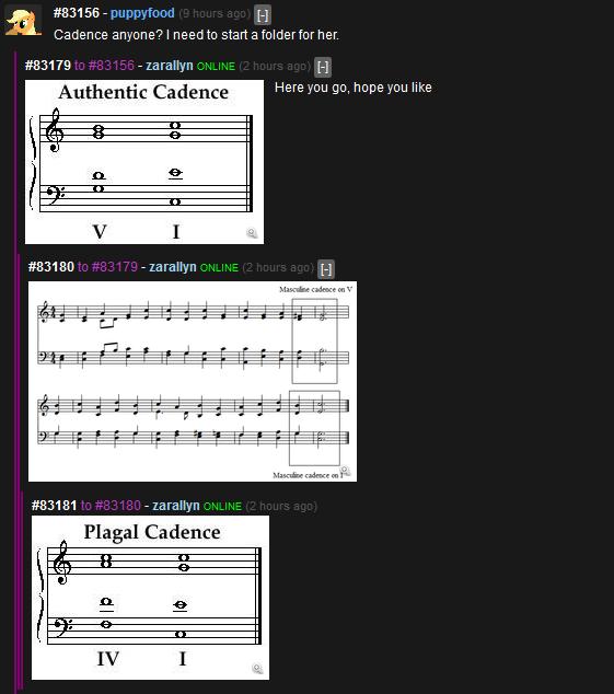 Meanwhile on NSFW Brony. Tags. Cadence (anyone? I need to start (3 tolda?. rter her. zarallyn H Fam' latt' ' l Cadence Here mu go. hope mu like. MFW I'm a music major the word reference should be joke, I know description