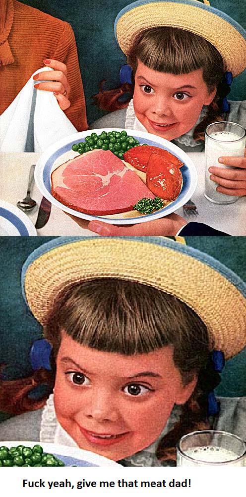 Meat. spewing pork-sword swallowing spunk bubble..