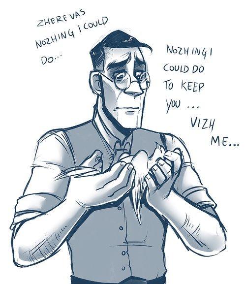 Medic feels. Dedz to MamaBlob.. NOOOOOOOOO ARCHIMEDES!!!