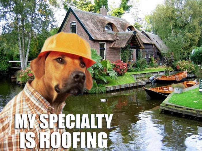Meet Garry, our local builder. he goood.