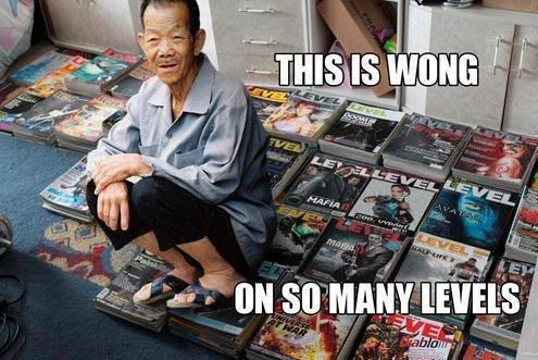 Meet mr Wong. Not oc. E fass an f. So when does he level up?