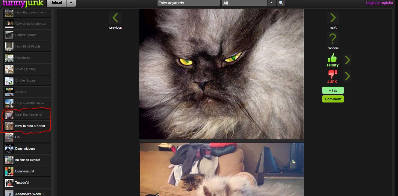 Meet the master. . Hideo Boner k' l__ 5! Damn previous next random Funny Junk ceiling cat